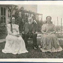 Image of [Eldress Sarah Burger, Elder Walter Shepherd, and Sister Ella Winship] - Mount Lebanon, NY