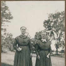 Image of [Eldresses Sarah Burger and Catherine Allen] - Mount Lebanon, NY