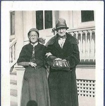 Image of [Sadie Neale with an Unidentified Friend] - Mount Lebanon, NY