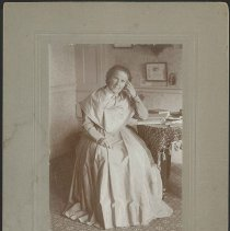Image of [Portrait of Sister Cecelia DeVere] - Mount Lebanon, NY