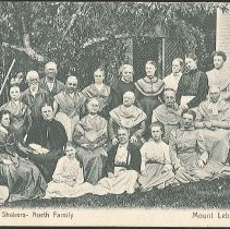 Image of [A Group of Shakers- North Family. Mount Lebanon, N.Y.] - Mount Lebanon, NY