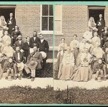 "Image of [""Group of Shakers. Church Family, Mt. Lebanon, N. Y.""] - Mount Lebanon, NY"