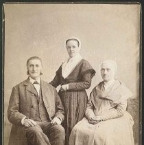 Image of [Calvin Reed and Two Sisters] - Mount Lebanon, NY