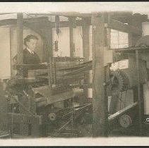 Image of Old Shaker Loom Installed 1775, Mt. Lebanon N.Y. - Mount Lebanon, NY