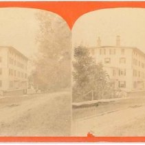 Image of [Building with Board Sidewalk] - Mount Lebanon, NY