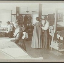 Image of [In the Cloak Shop] - Mount Lebanon, NY