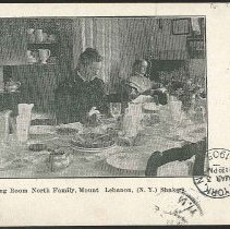 Image of Visitors Dining Room North Family, Mt. Lebanon (N.Y.) Shakers - Mount Lebanon, NY