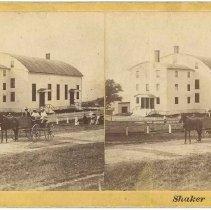 "Image of ""Shaker Church. Mt. Lebanon, Columbia Co., N. Y."" - Mount Lebanon, NY"
