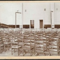 Image of [Chairs Set Up for a Meeting] - Mount Lebanon, NY