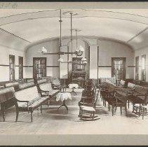 Image of [Interior of Meetinghouse] - Mount Lebanon, NY