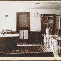 Image of [Interior of a Shaker Kitchen] - Mount Lebanon, NY
