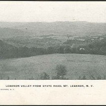 Image of Lebanon Valley From State Road, Mt. Lebanon N.Y. - Mount Lebanon, NY