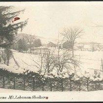 Image of Winter Scene Mt. Lebanon Shakers - Mount Lebanon, NY