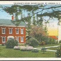 Image of The Bishop's House, Shaker Village, Mt. Lebanon N.Y. - Mount Lebanon, NY