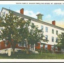 Image of South Family, Shaker Dwelling House, Mt. Lebanon N.Y. - Mount Lebanon, NY