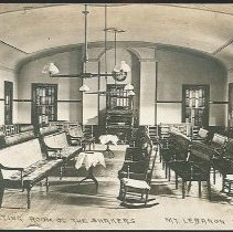 Image of Meeting Room of the Shakers, Mt. Lebanon N.Y. - Mount Lebanon, NY