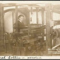 Image of Old Shaker Loom, Installed 1775, Mt. Lebanon N.Y. - Mount Lebanon, NY