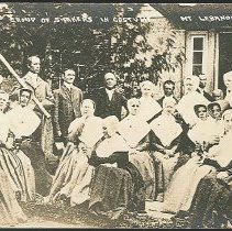 Image of Group of Shakers in Costume, Mt. Lebanon N.Y. - Mount Lebanon, NY