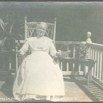 Image of On the Piazza, North Family Shakers, Mt. Lebanon N.Y. - Mount Lebanon, NY