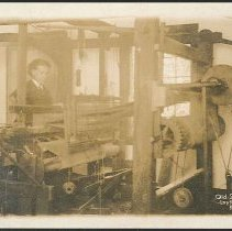 Image of Old Shaker Loom Installed 1775, Mt. Lebanon N.Y. - Mount Lebanon, NY