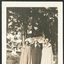 Image of [Sister Lillian Barlow and two Visitors] - Mount Lebanon, NY