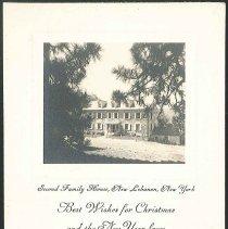 Image of Second Family House, New Lebanon N.Y. - Mount Lebanon, NY
