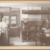 Image of In the Kitchen - North Family, Mount Lebanon, New York