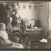 """Image of """"Working Room for Fancy Goods, Office Building 1888"""" - North Family, Mount Lebanon, New York"""