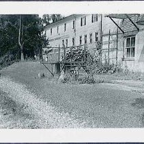 Image of [Carriage Platform Back of North Family Second House and Laundry] - Mount Lebanon, NY