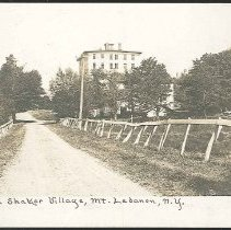 "Image of ""Street in Shaker village, Mt. Lebanon N.Y."" - Mount Lebanon, NY"