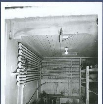 Image of [Pipes in Cooling room of Kitchen in Main Dwelling] - Mount Lebanon, NY
