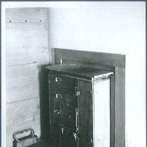 Image of [Built-in Stove, Third Floor Hall, Second House] - Mount Lebanon, NY