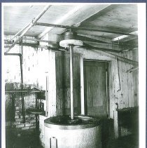 Image of [Shaker Built Centrifugal Dryer, Laundry Building] - Mount Lebanon, NY