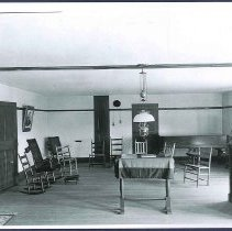 Image of [Meeting Room at the South Family Dwelling] - Mount Lebanon, NY