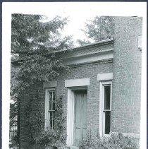 Image of [Mount Lebanon Ministry Shop, Rear Door] - Mount Lebanon, NY