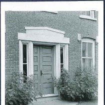 Image of [Ministry Shop, Close-up of Front Door] - Mount Lebanon, NY