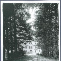 Image of [Side View of Dwelling, 1931] - Mount Lebanon, NY
