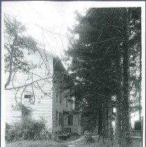 Image of [Second Family Dwelling seen from South End] - Mount Lebanon, NY