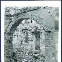 Image of [Fire Ruins, Sisters' Shop: Looking toward North End] - Mount Lebanon, NY