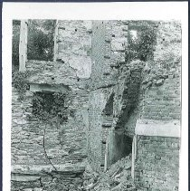 Image of [Fire Ruins, Sisters' Shop] - Mount Lebanon, NY