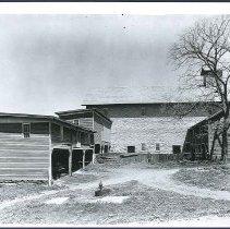 Image of [Stone Barn from South] - Mount Lebanon, NY