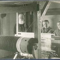 Image of Rug Weaving, Shakers, Enfield, Conn. - Enfield, CT