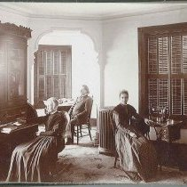 "Image of ""Ministry's Room in Office (Marble Hall)"" - Union Village, OH"