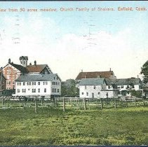 Image of View from 50 Acres Meadow, Church Family of Shakers. Enfield Conn. - Enfield, CT