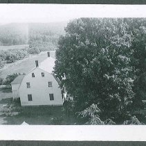 Image of [View from the Top of the Water Tower, Looking South Toward the Old Church] - Canterbury, NH