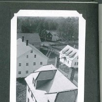 Image of [View from the Water Tower Platform, 1945] - Canterbury, NH