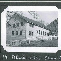 "Image of ""Blacksmith Shop, S.E."" - Canterbury, NH"