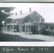 """Image of """"Office. House O. 1831"""" - Canterbury, NH"""