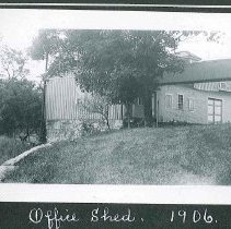 "Image of ""Office Shed, 1906"" - Canterbury, NH"