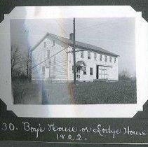 "Image of ""Boy's House or Lodge House B. 1822"" - Canterbury, NH"